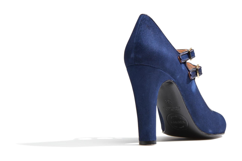 Escarpins Made by SARENZA Flore Thirties #8 Bleu vue face