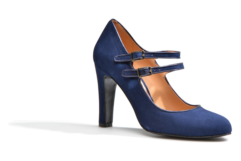 Escarpins Made by SARENZA Flore Thirties #8 Bleu vue droite
