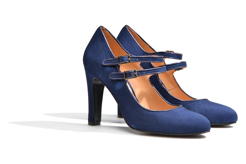 Escarpins Made by SARENZA Flore Thirties #8 Bleu vue derrière