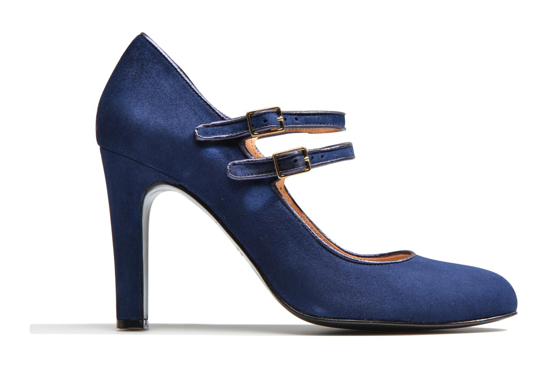 Escarpins Made by SARENZA Flore Thirties #8 Bleu vue détail/paire