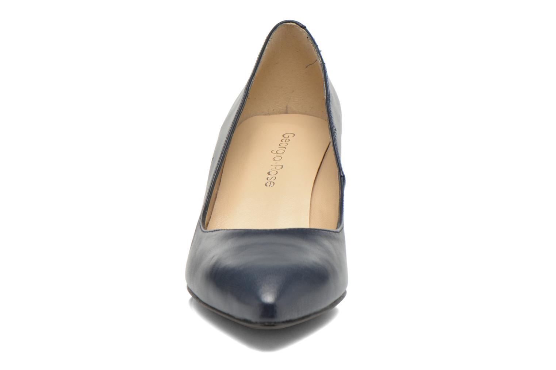 Zapatos de tacón Georgia Rose Sanua Azul vista del modelo