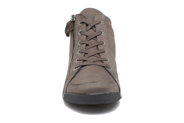 Baskets Ara Rom Gris vue portées chaussures