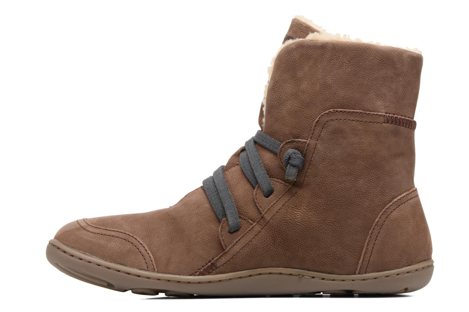 Ankle boots Camper Peu Cami 46477 Brown front view