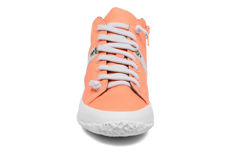Baskets Camper Capas K400052 Orange vue portées chaussures