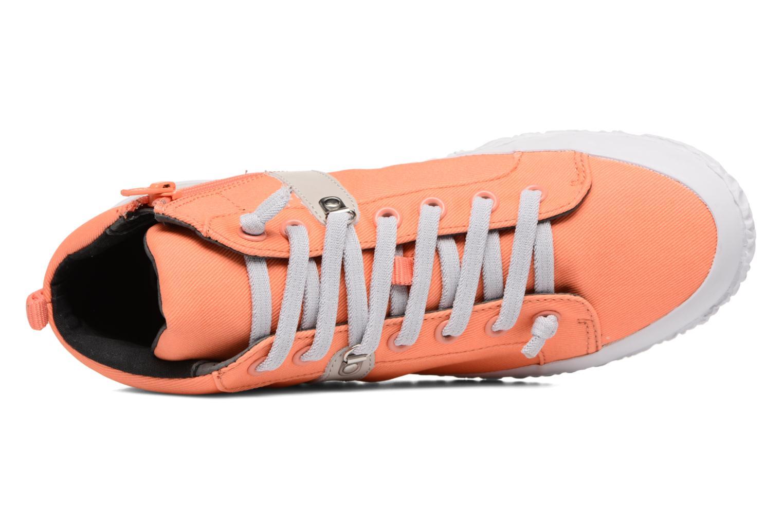 Baskets Camper Capas K400052 Orange vue gauche