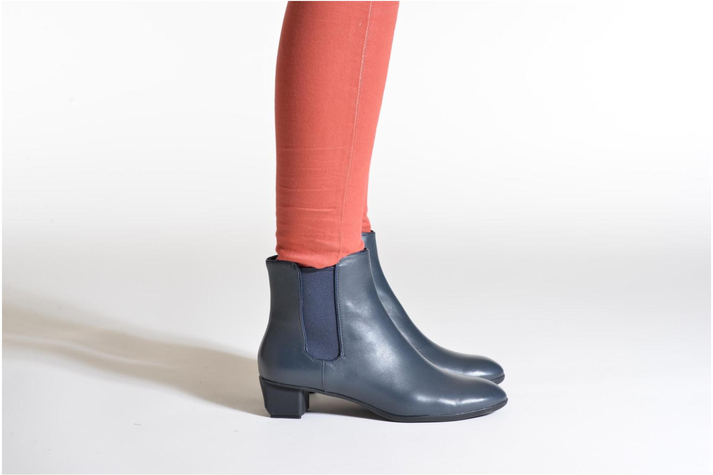 Bottines et boots Camper Beth K400017 Bleu vue bas / vue portée sac