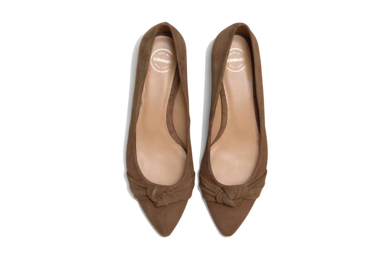 Ballerines Made by SARENZA Honey Tea #1 Marron vue portées chaussures