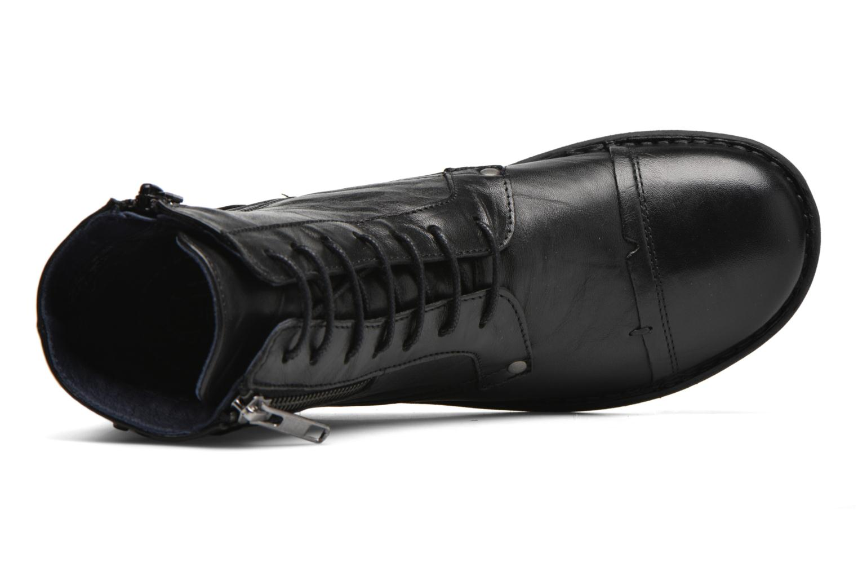 Bottines et boots Dorking Medina 6402 Noir vue gauche
