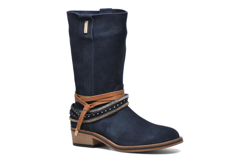Les Tropéziennes par M Belarbi Apache (Bleu) - Bottines et boots chez Sarenza (264746)