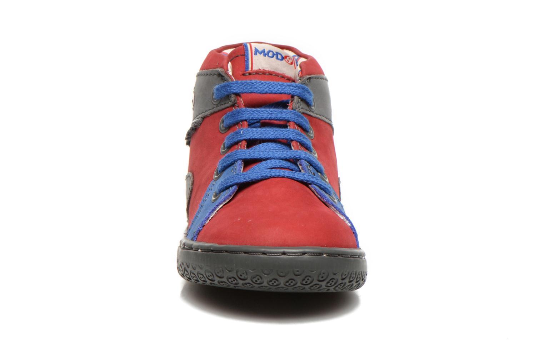 Stiefeletten & Boots Mod8 WAIKIKI rot schuhe getragen