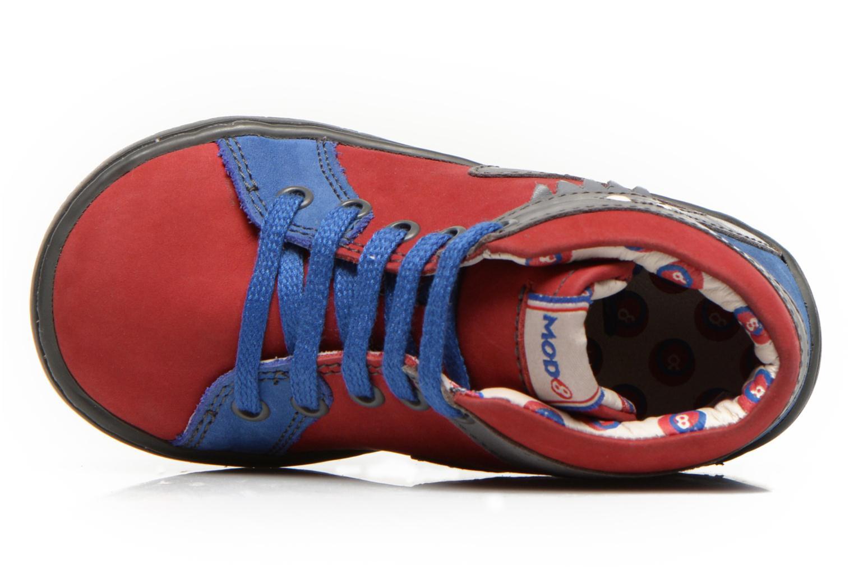 Stiefeletten & Boots Mod8 WAIKIKI rot ansicht von links