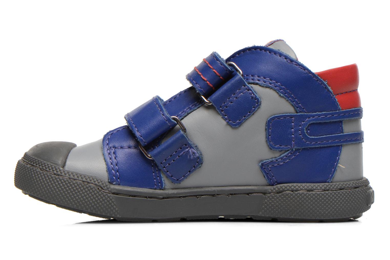 Chaussures à scratch Mod8 KINZO Gris vue face
