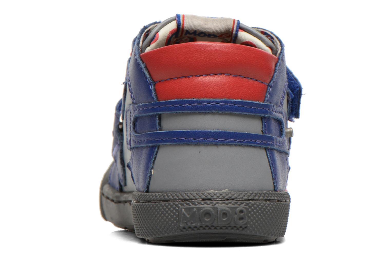 Chaussures à scratch Mod8 KINZO Gris vue droite