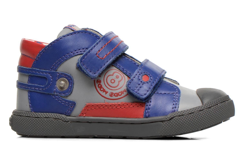 Chaussures à scratch Mod8 KINZO Gris vue derrière