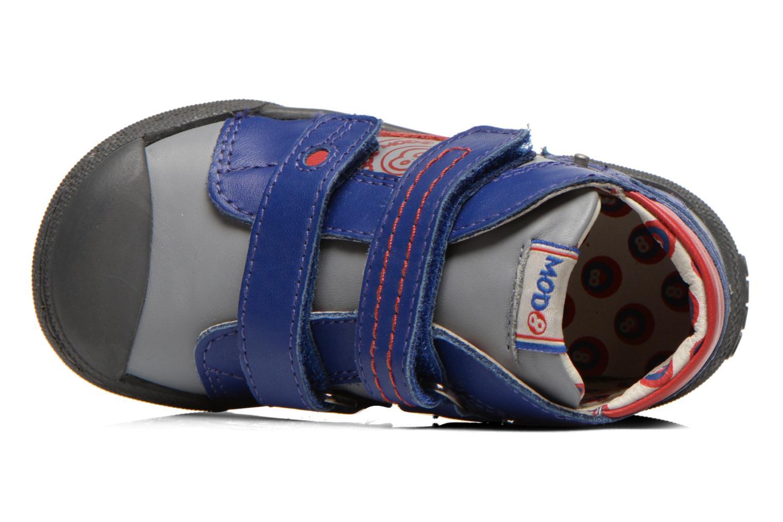 Chaussures à scratch Mod8 KINZO Gris vue gauche