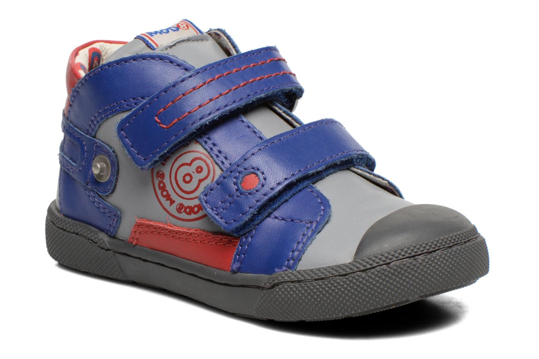Chaussures à scratch Mod8 KINZO Gris vue détail/paire