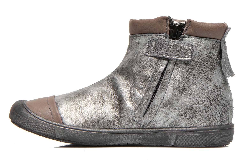Bottines et boots GBB Lucetta Gris vue face