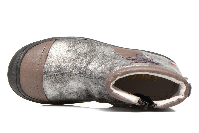 Stiefeletten & Boots GBB Lucetta grau ansicht von links