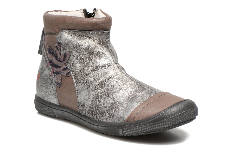 Bottines et boots GBB Lucetta Gris vue détail/paire