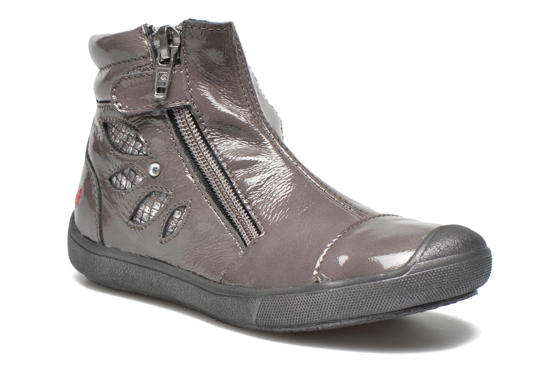 Bottines et boots GBB Livati Gris vue détail/paire