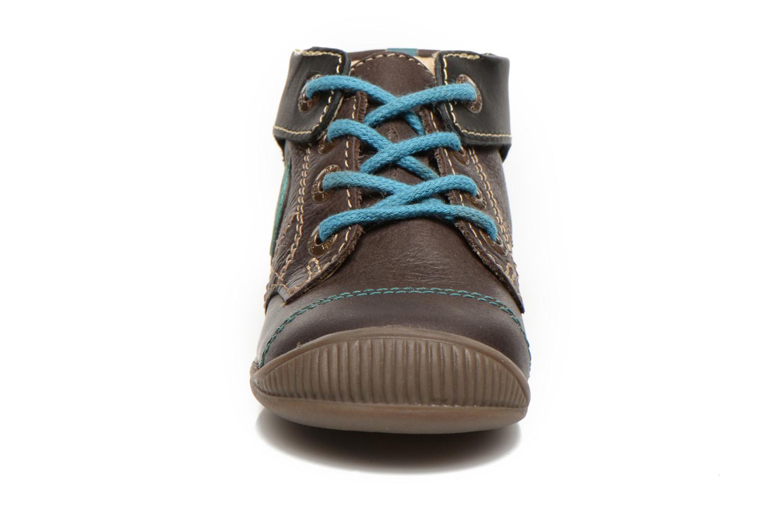 Bottines et boots GBB Lindford Marron vue portées chaussures