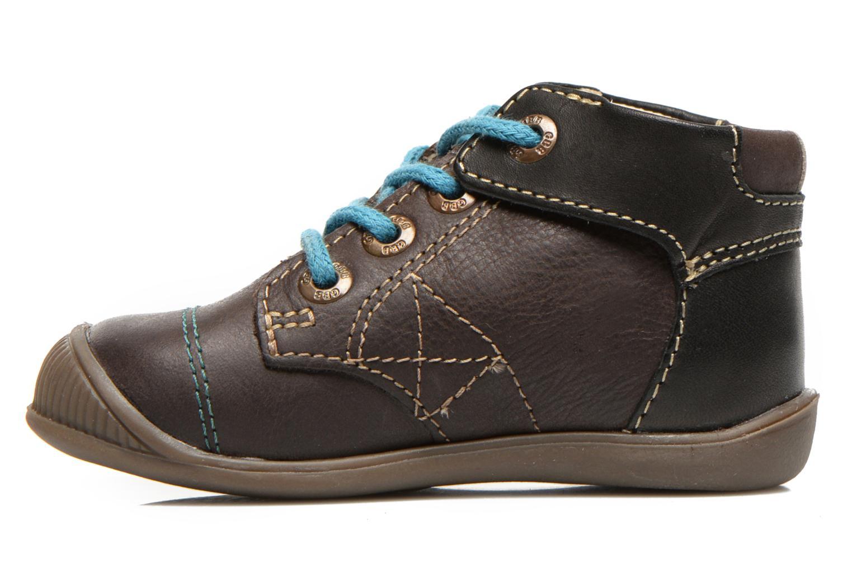 Stiefeletten & Boots GBB Lindford braun ansicht von vorne