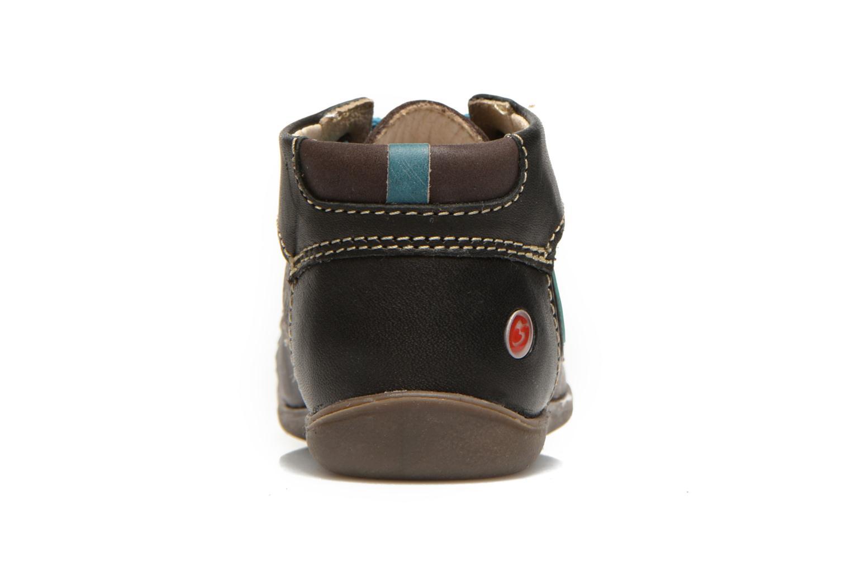 Bottines et boots GBB Lindford Marron vue droite
