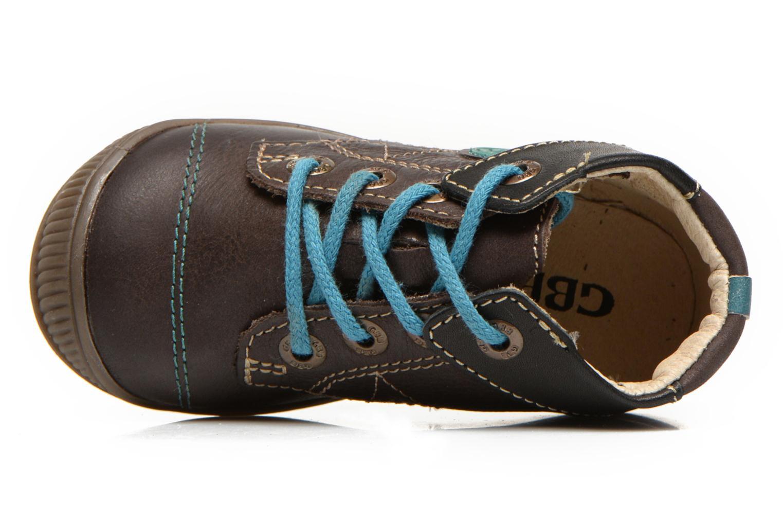 Bottines et boots GBB Lindford Marron vue gauche