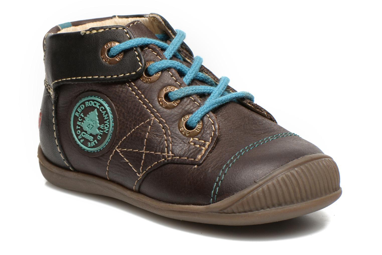 Bottines et boots GBB Lindford Marron vue détail/paire