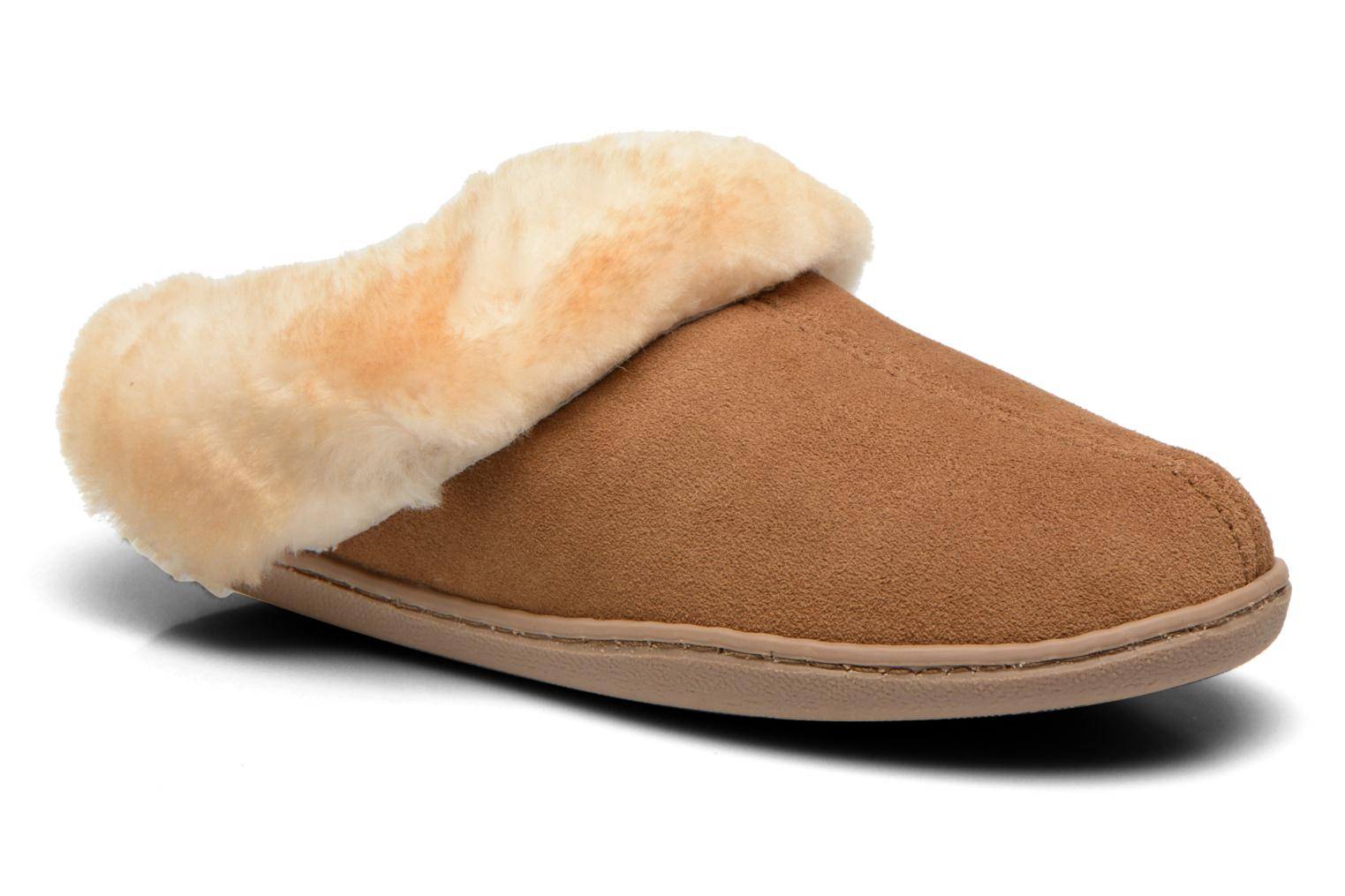 Sheepskin Mule Golden Tan