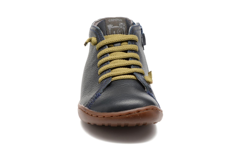 Bottines et boots Camper Peu Cami Kids 2 Bleu vue portées chaussures