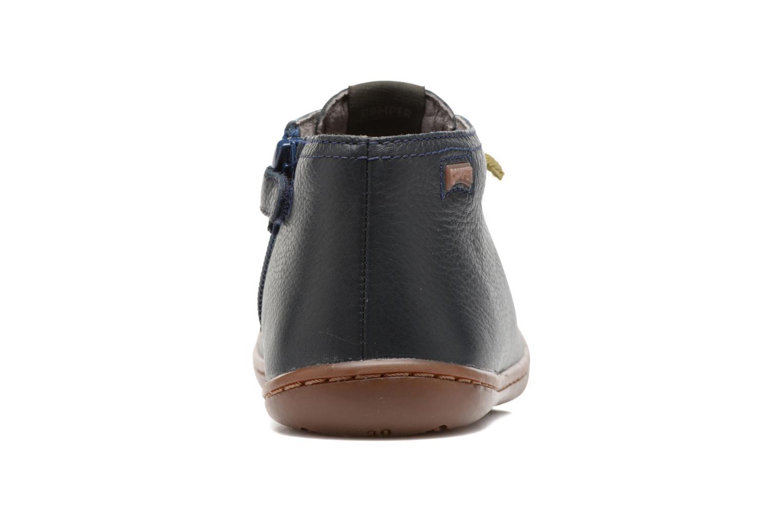 Bottines et boots Camper Peu Cami Kids 2 Bleu vue droite