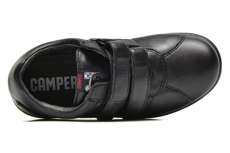 Chaussures à scratch Camper Pelotas Ariel Kids Noir vue gauche