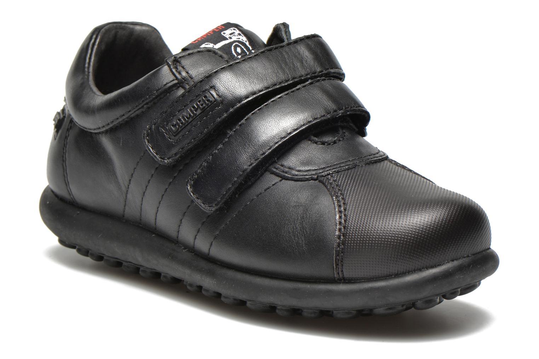 Chaussures à scratch Camper Pelotas Ariel Kids Noir vue détail/paire