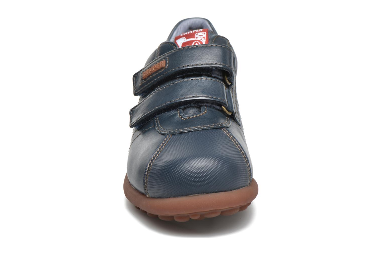 Chaussures à scratch Camper Pelotas Ariel Kids Bleu vue portées chaussures
