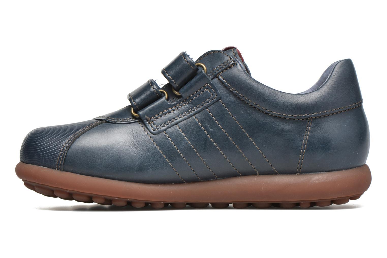 Chaussures à scratch Camper Pelotas Ariel Kids Bleu vue face