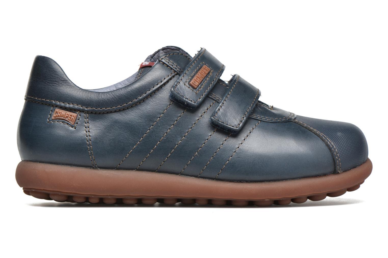 Chaussures à scratch Camper Pelotas Ariel Kids Bleu vue derrière