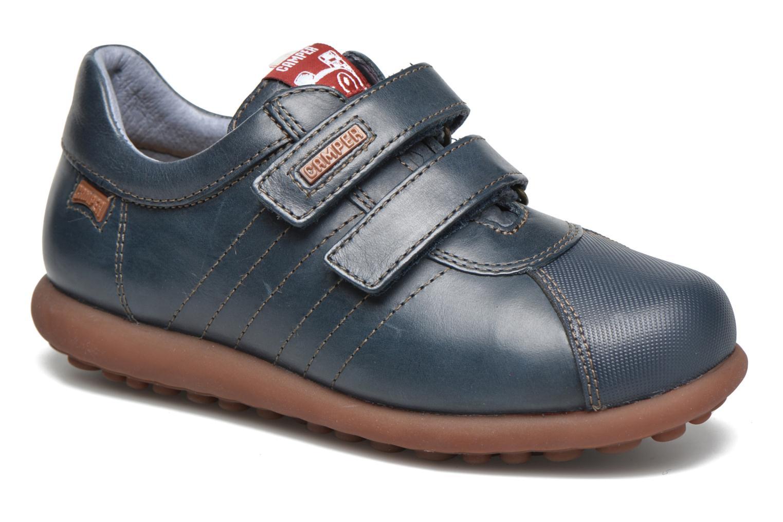 Chaussures à scratch Camper Pelotas Ariel Kids Bleu vue détail/paire