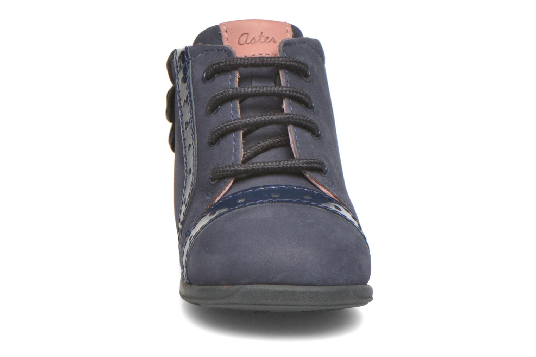 Bottines et boots Aster OFANNA Bleu vue portées chaussures