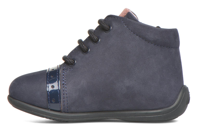 Bottines et boots Aster OFANNA Bleu vue face