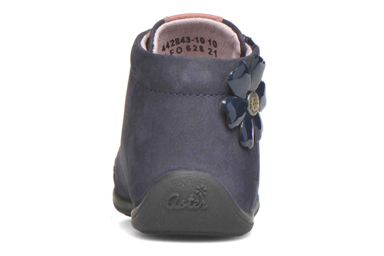 Bottines et boots Aster OFANNA Bleu vue droite