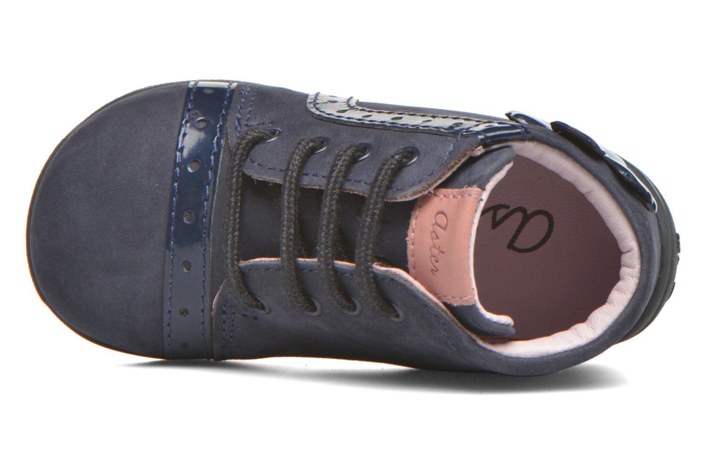 Bottines et boots Aster OFANNA Bleu vue gauche