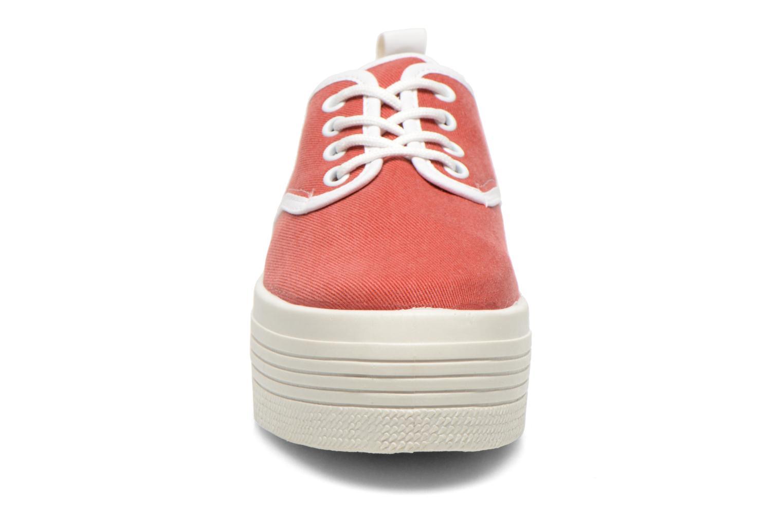 Baskets Ippon Vintage Yuka Casual Rouge vue portées chaussures