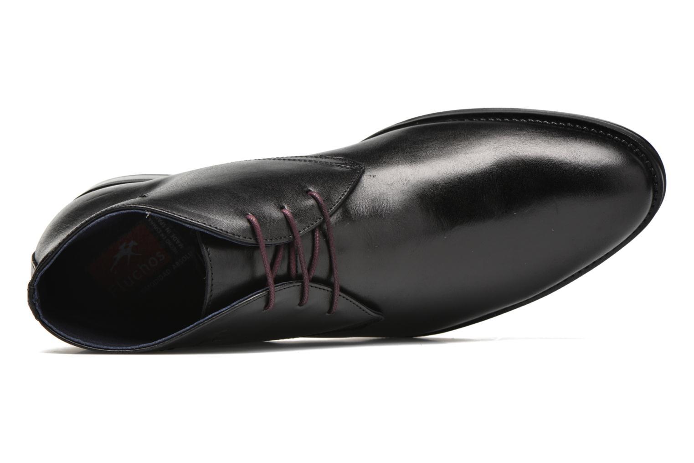 Chaussures à lacets Fluchos Heracles 8415 Noir vue gauche
