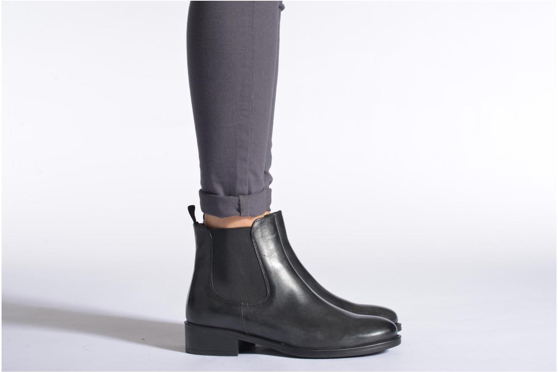 Bottines et boots Elizabeth Stuart Ferry 294 Noir vue bas / vue portée sac