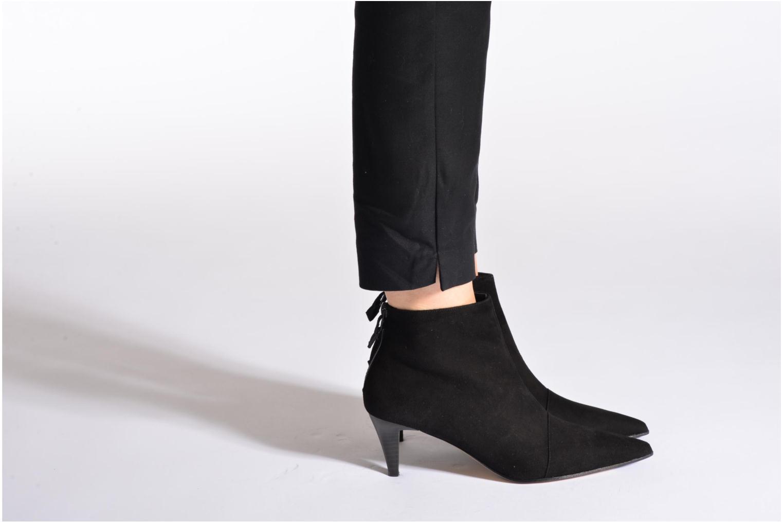 Bottines et boots Elizabeth Stuart Rindy 300 Noir vue bas / vue portée sac