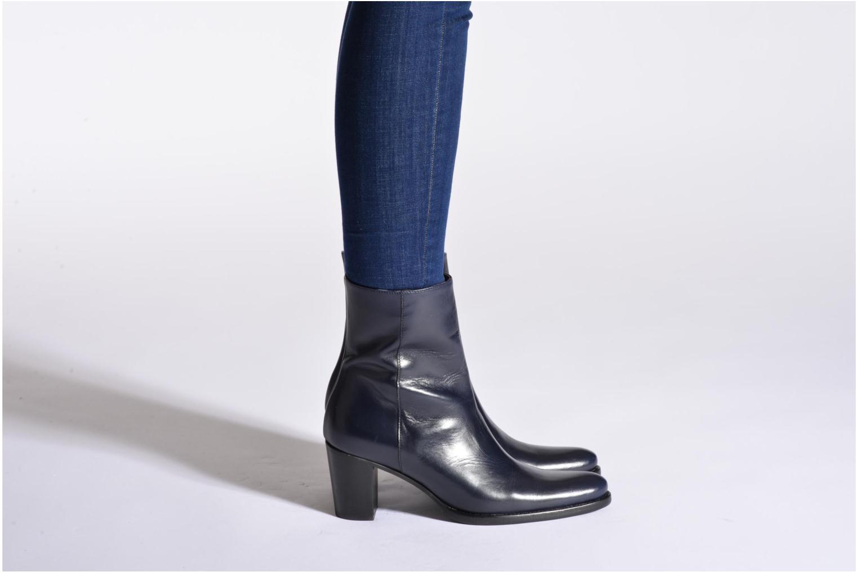 Bottines et boots Muratti Venicia Bleu vue bas / vue portée sac