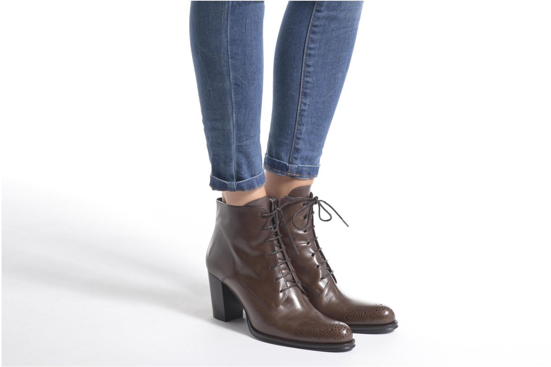 Bottines et boots Muratti Charlotte Noir vue bas / vue portée sac