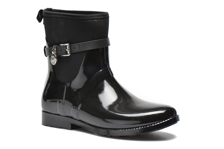 Charme stretch rain bootie Black