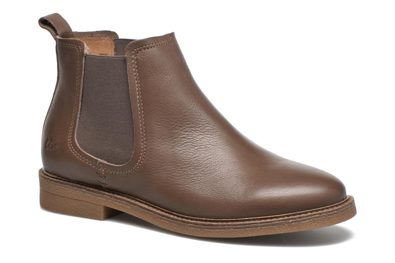 Bottines et boots TBS British Marron vue détail/paire